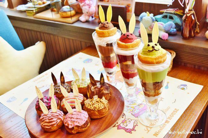 色とりどりのスイーツ「うさぎシュークリーム&リエジョア」は原宿の新名物!
