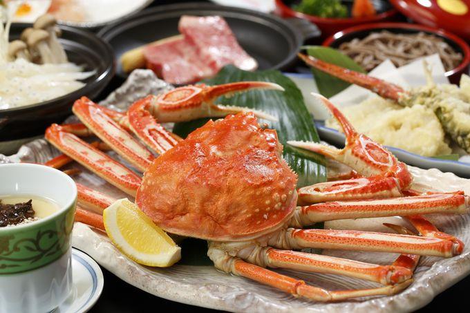 「長楽園」は山・海・湖の恵がたっぷり詰まった和食会席が自慢