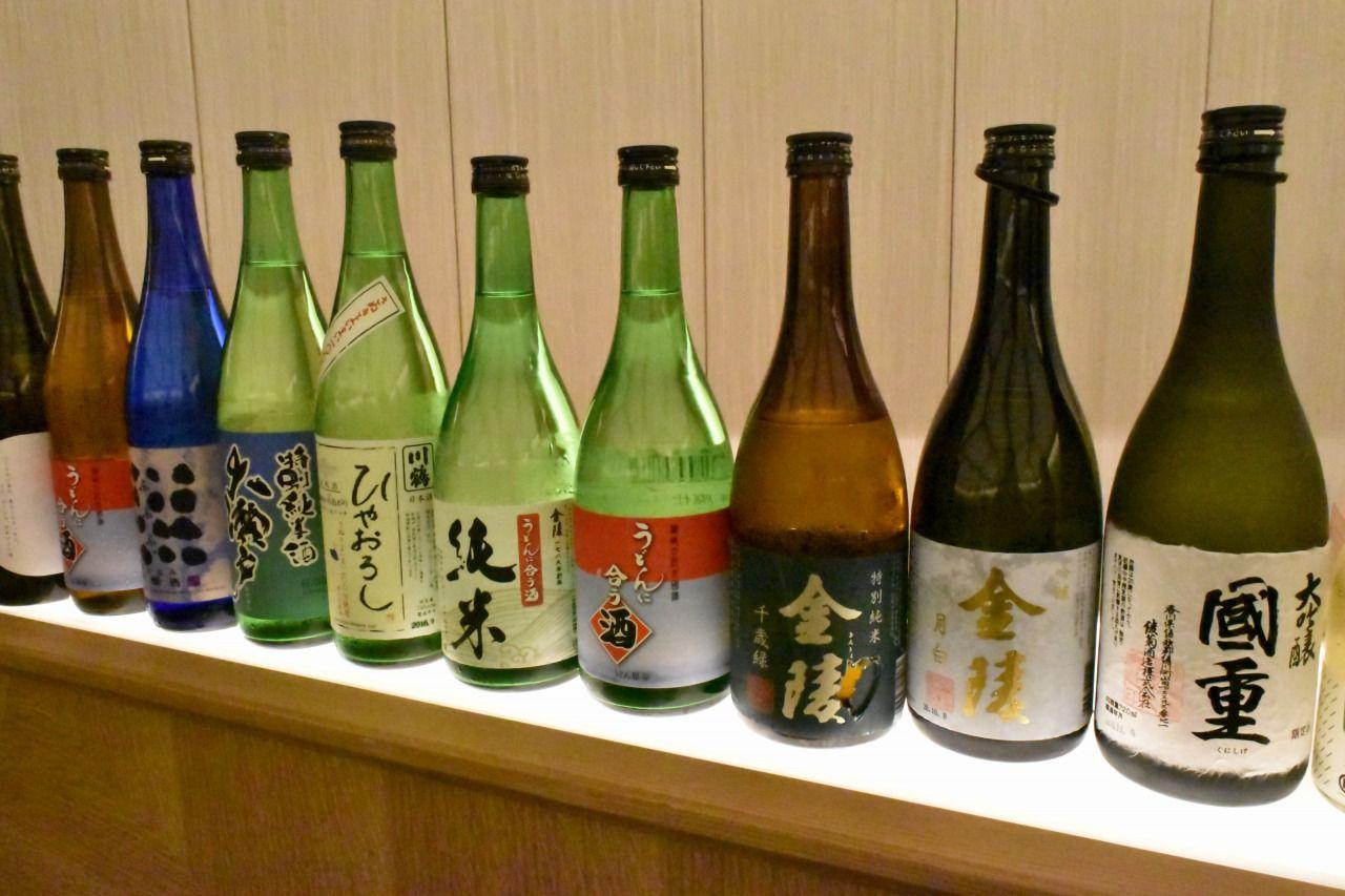 香川県の自然が生んだ美酒の数々
