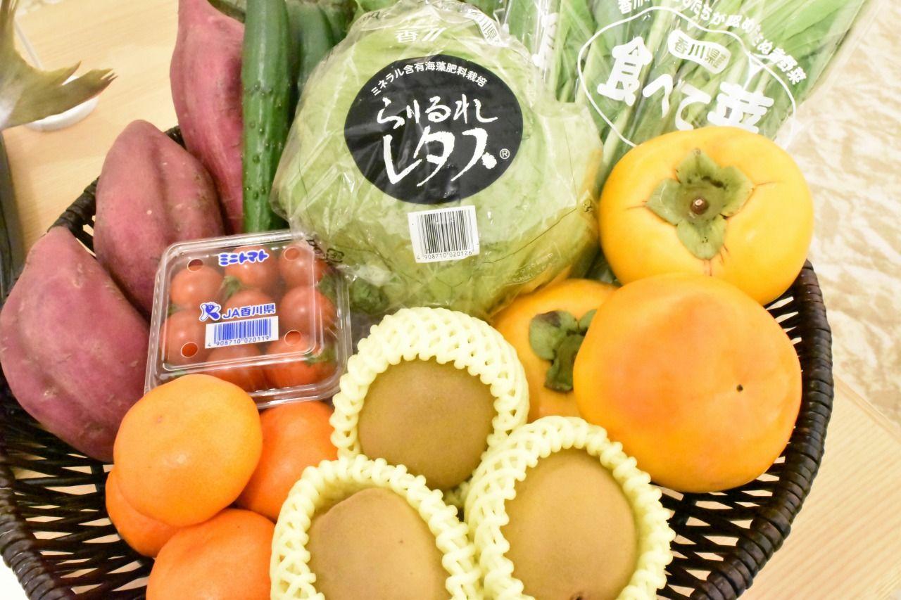 四季折々の豊かな自然で育ったフルーツ&野菜
