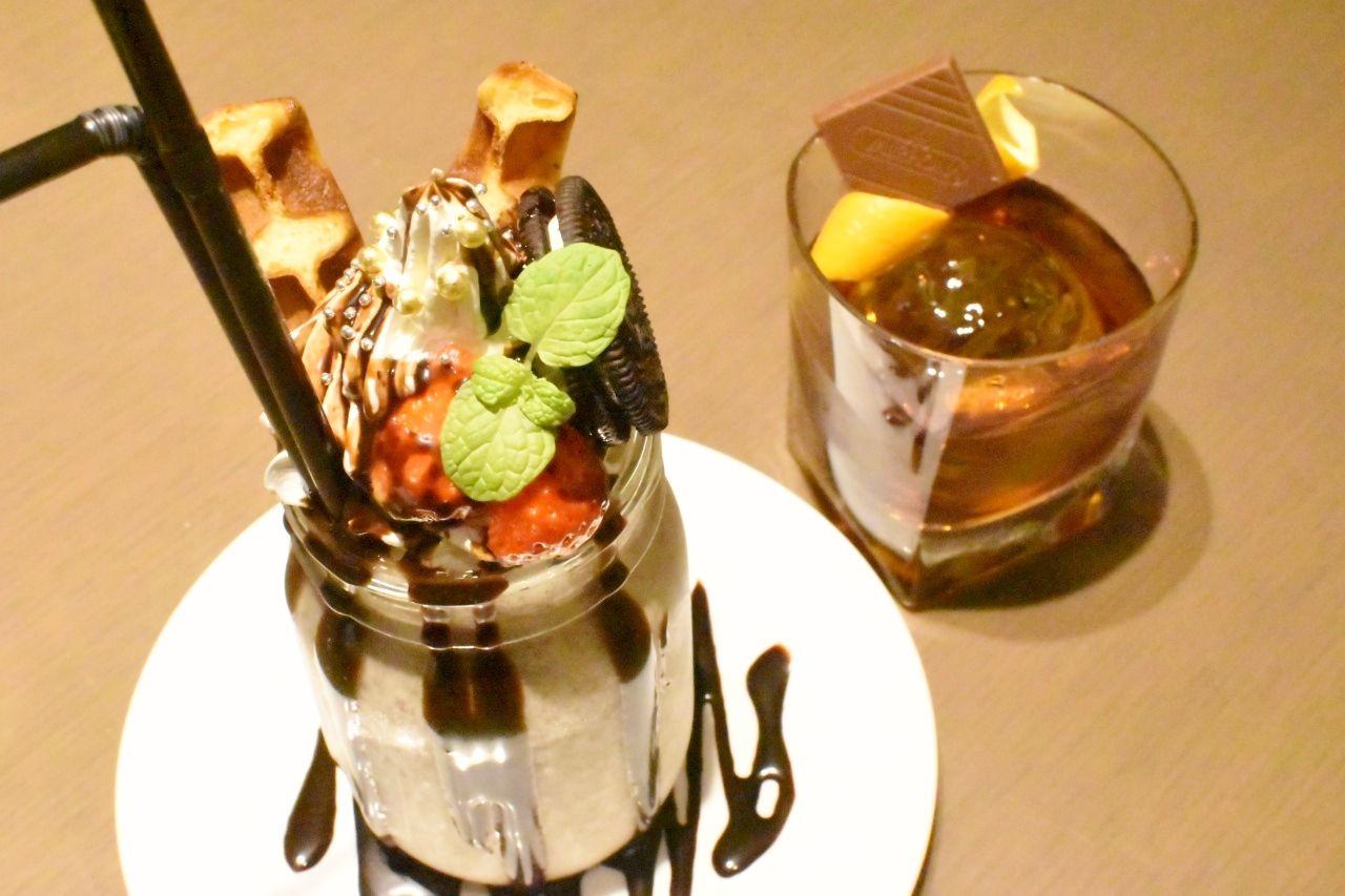 食後にピッタリなデザートカクテル&限定チョコレート