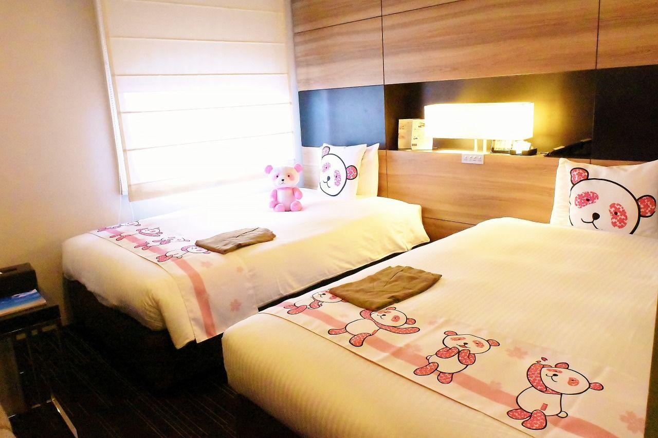 部屋のパンダは全部でいくつ?東京「三井ガーデンホテル上野」