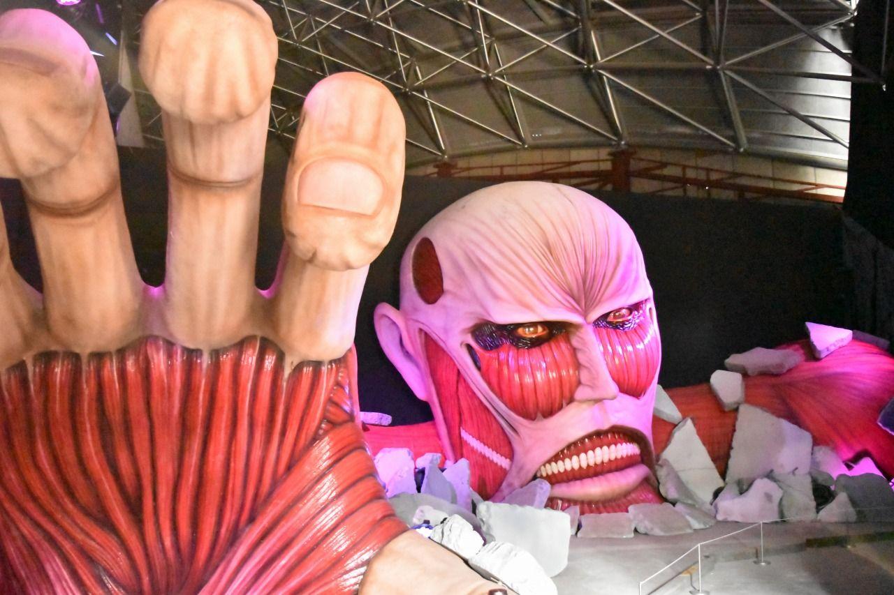 富士急ハイランドに巨人が襲来?「進撃の巨人THE RIDE」