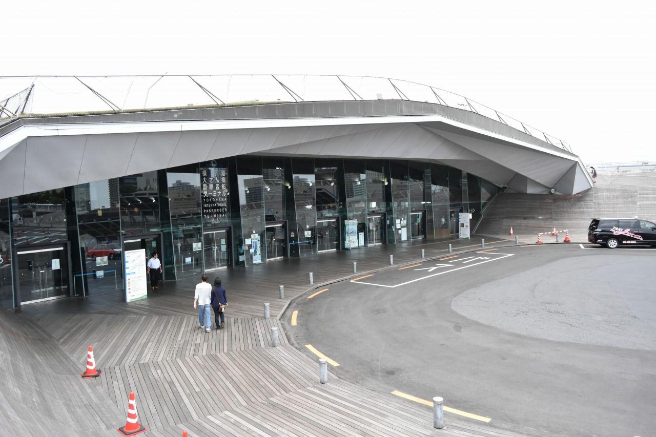 横浜の玄関口「横浜港大さん橋国際客船ターミナル」