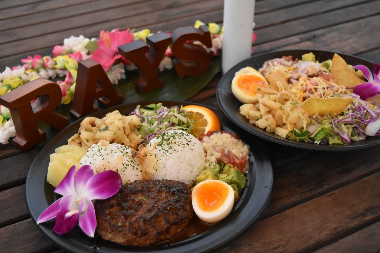 ハワイと言ったらロコモコ&ハワイアンBBQ!!