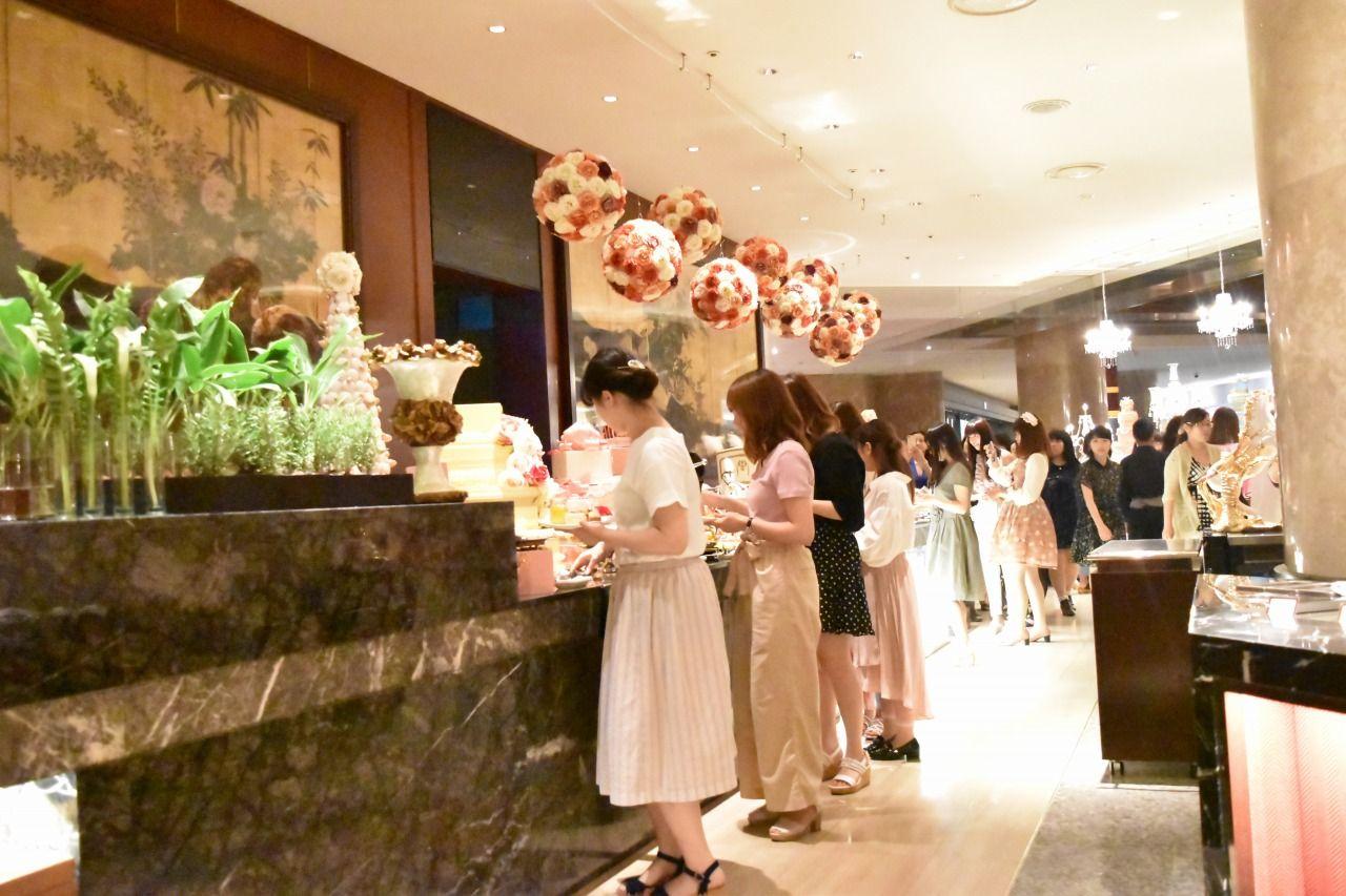 ヒルトン東京といえば「マーブルラウンジ」のブッフェ