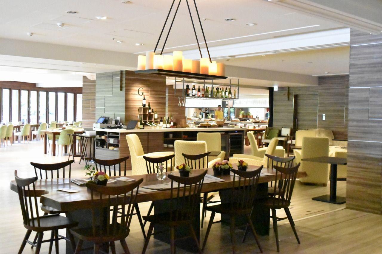 軽井沢の豊潤な風土ならではのグルメが楽しめる「Grill & Dining G」
