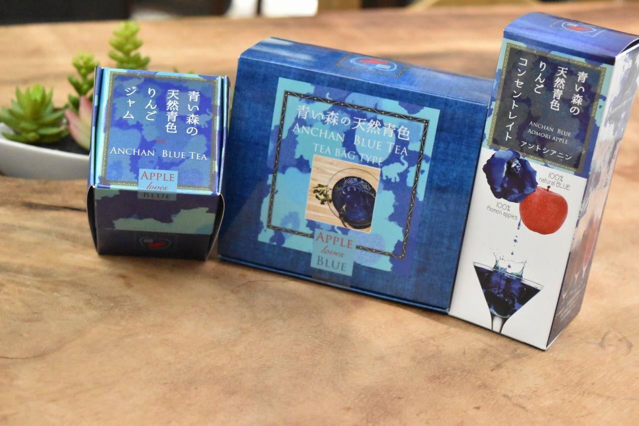 青森で誕生した「青い森の天然青色」が話題!!