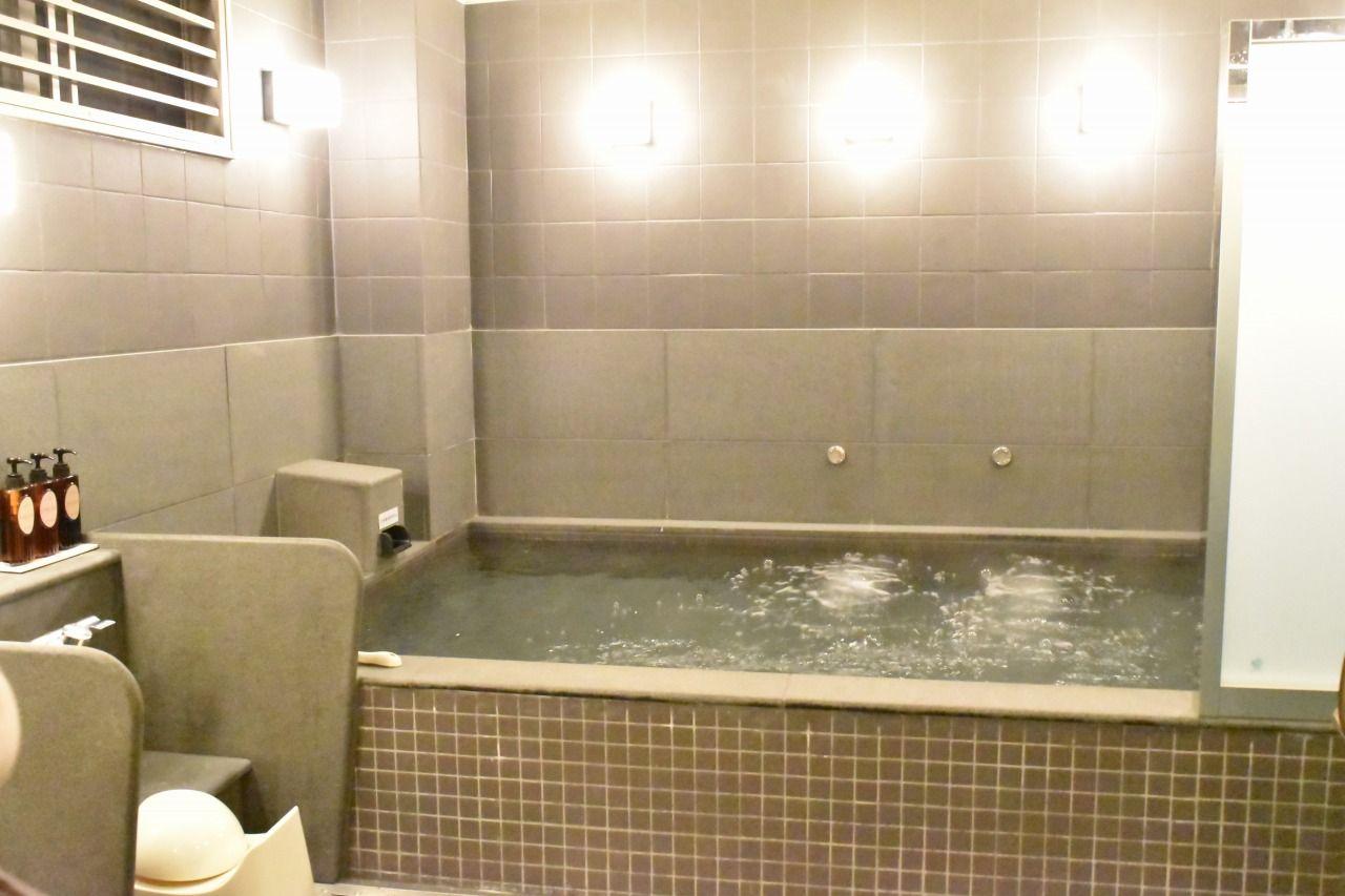 大浴場は男女共にアメニティーも充実