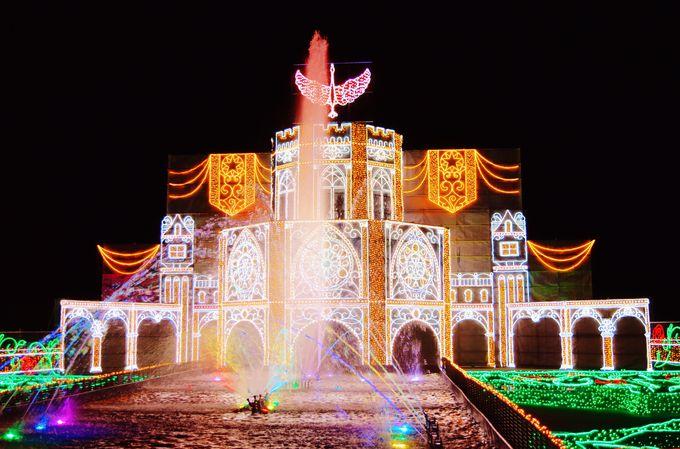 迫力満点の体験型イルミネーションと光の大宮殿「さがみ湖イルミリオン」