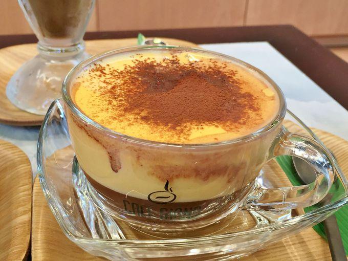 フワフワがクセになるハノイ名物「エッグコーヒー」