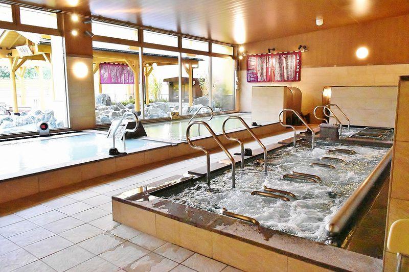 天然温泉や日替わり風呂などで血行を促進して疲れを吹き飛ばそう!
