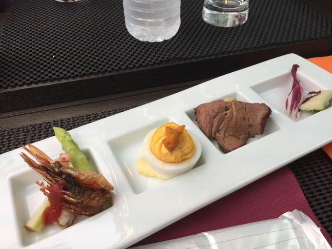 好評のフランス料理コースは豪華なのにとってもヘルシー!