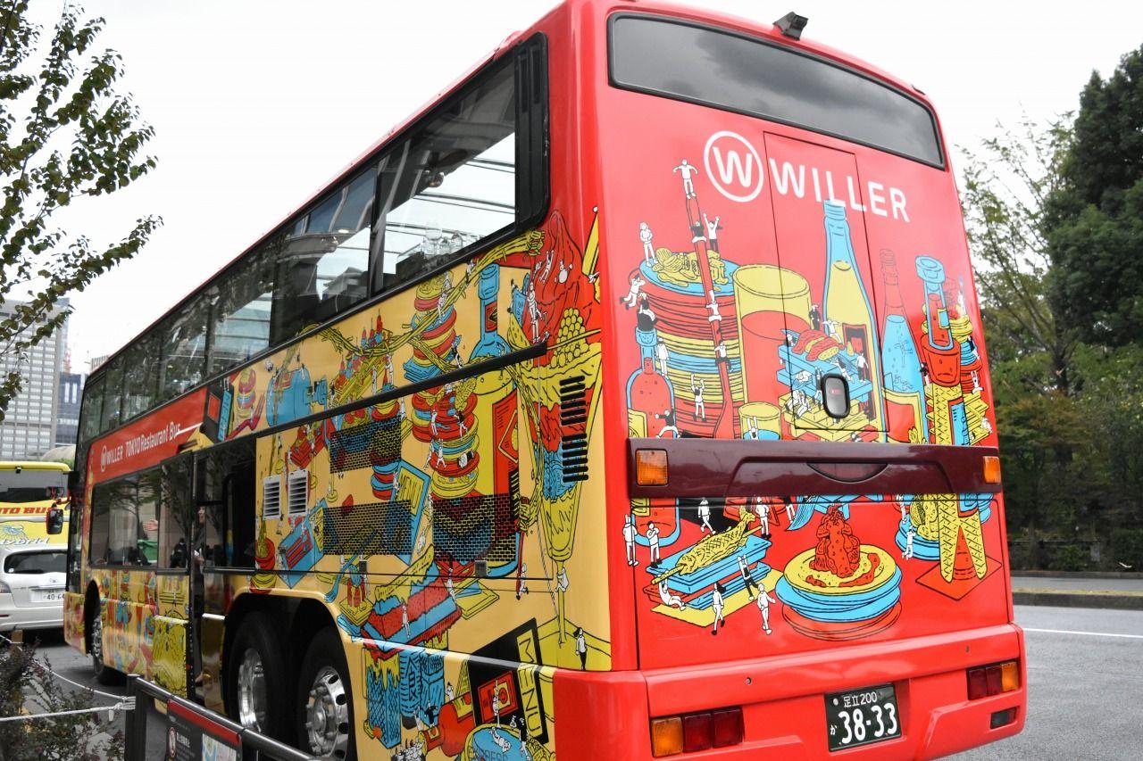 「東京レストランバス」は東京ミッドタウン日比谷前から出発!