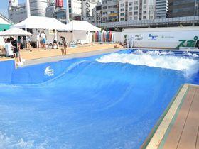 都心でサーフィンとBBQが楽しめる!?「スポル品川大井町」