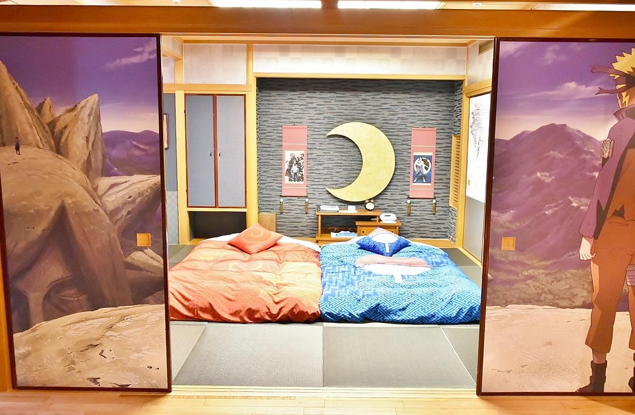 "「NARUTO-ナルト」の世界観を再現した""特別スイートルーム""登場"