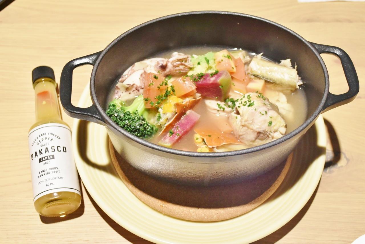 柳橋中央市場直送の新鮮な食材 オールデイダイニング