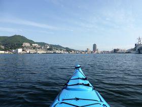 新しい長崎を海から発見!長崎港でシーカヤック体験