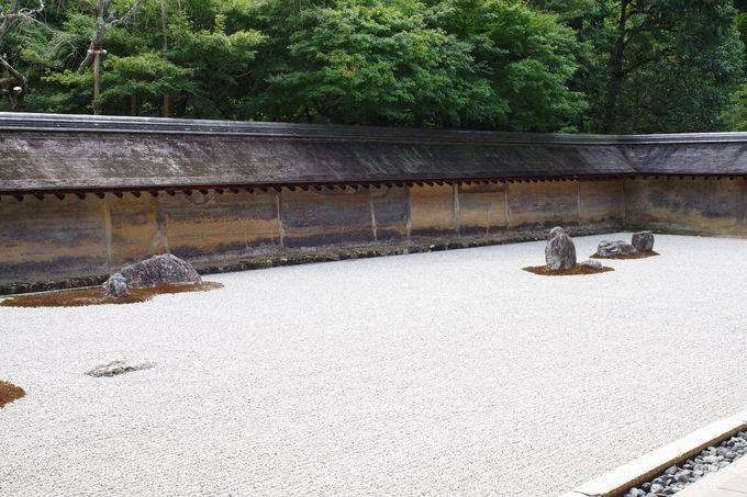 たくさんの謎が秘められた龍安寺の石庭