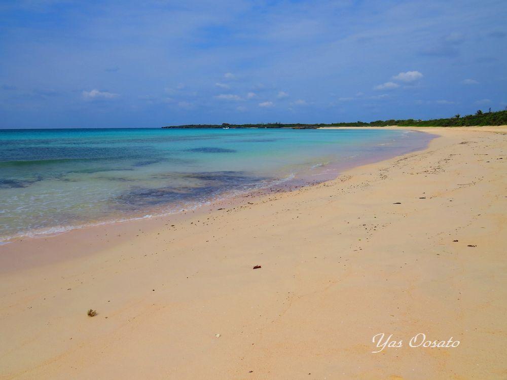 伊良部島の渡口の浜