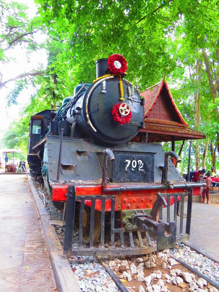 泰緬鉄道の名残