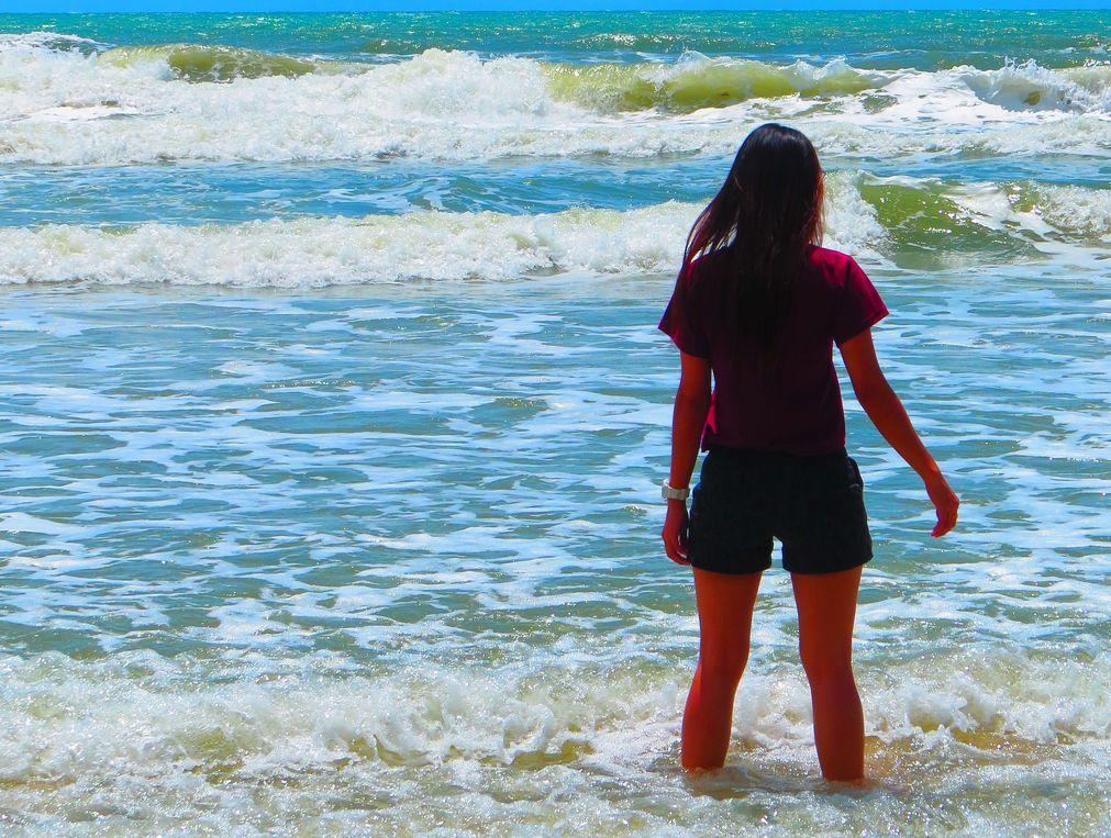 長い海岸線を散策しよう