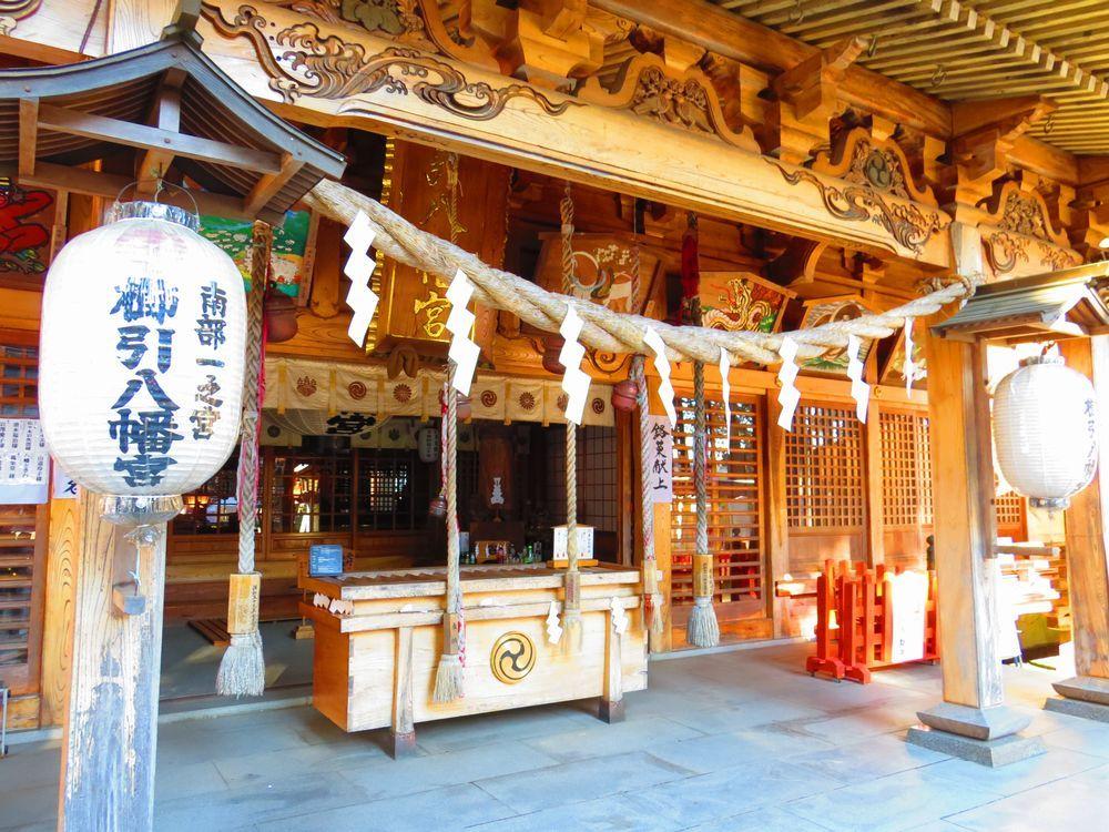 河童が神社に!国宝がある八戸市・櫛引八幡宮の河童伝説と南部の歴史