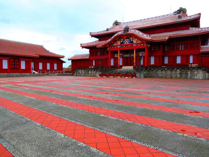 12.「首里城」沖縄の世界遺産