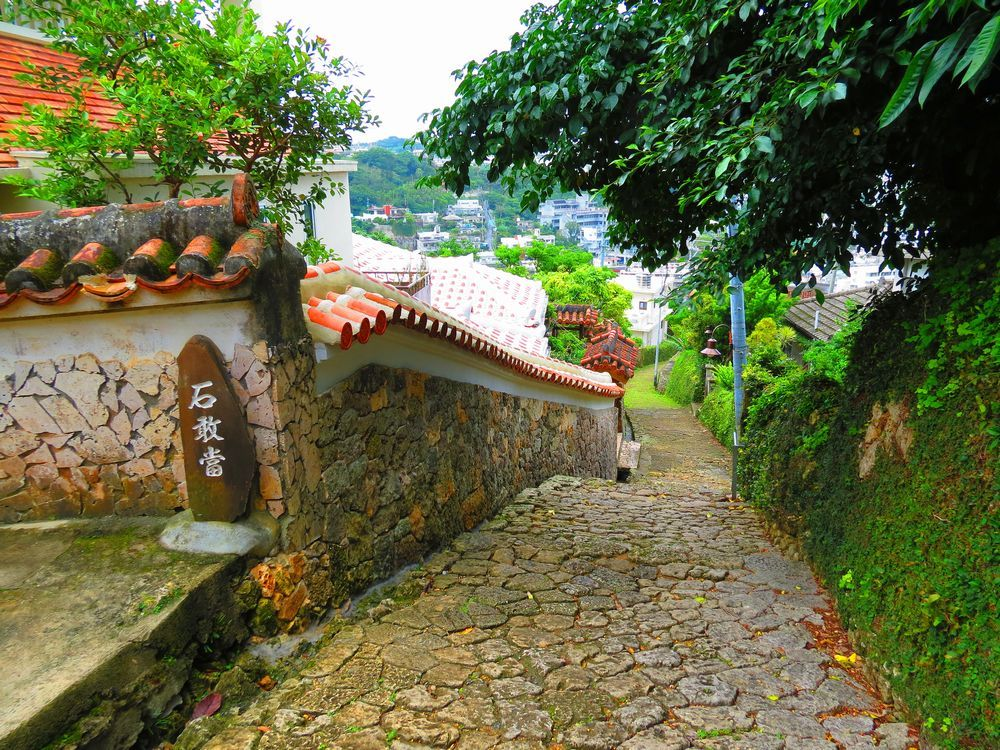 500年の歴史!「金城町石畳道」は昔の主要道