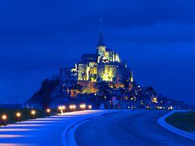 世界遺産・モンサンミッシェル観光は1泊し光の変化を楽しもう