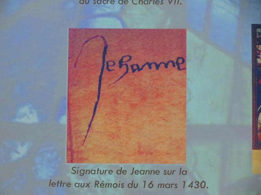 ジャンヌ・ダルクの署名