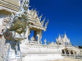 タイのワットロンクン(ホワイトテンプル)が放つ純白の光!