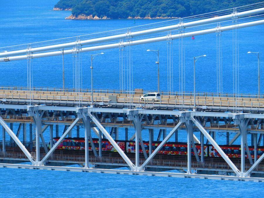 橋を横から眺める