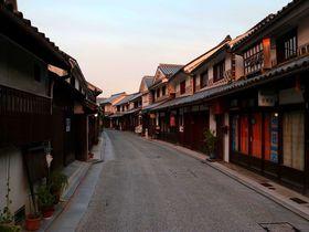 倉敷・美観地区観光で必見の夕方からの美とライトアップの共演