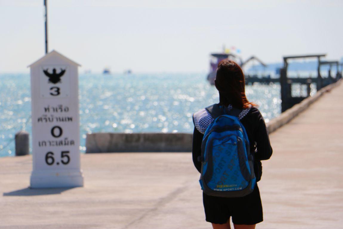 サメット島で遊ばずしてタイのビーチは語れない