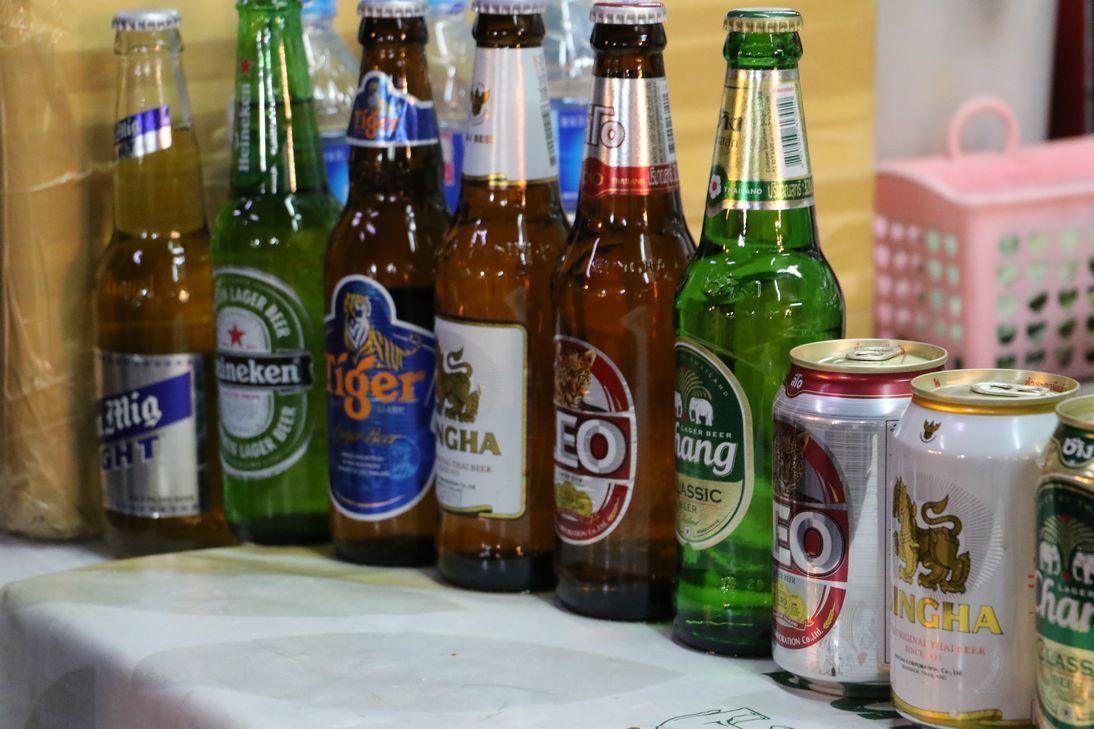 タイのビールはいかが?
