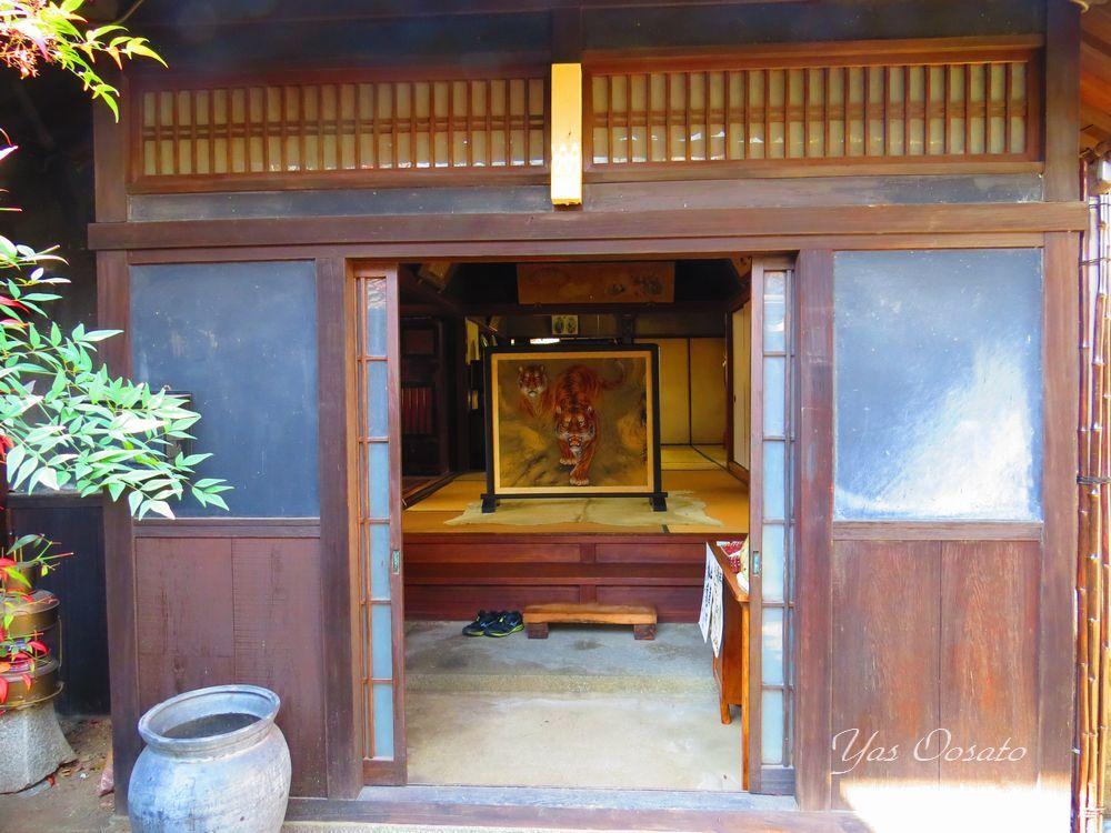 築百年の吉田邸は保存地区にあり