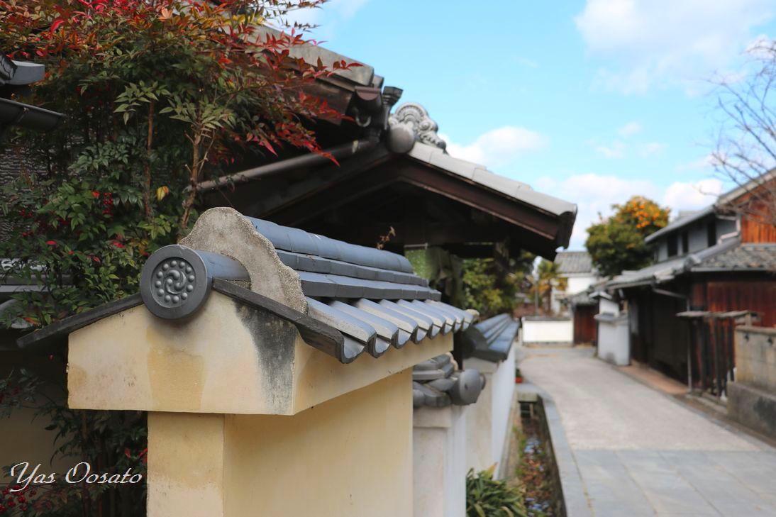 伝統的建造物群「笠島」