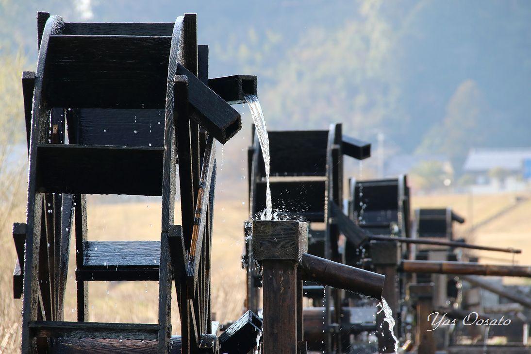 高知・四万十川支流で回る水車群!美しき「安並水車の里」