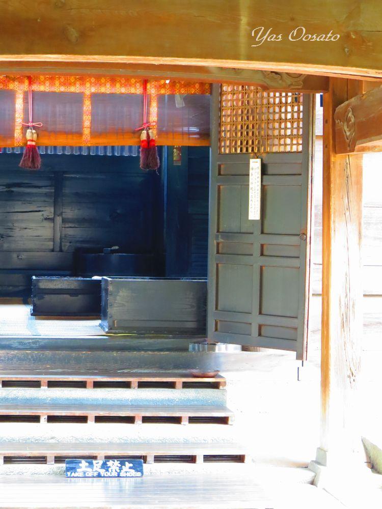 吉備津神社の美しき回廊と御釜殿