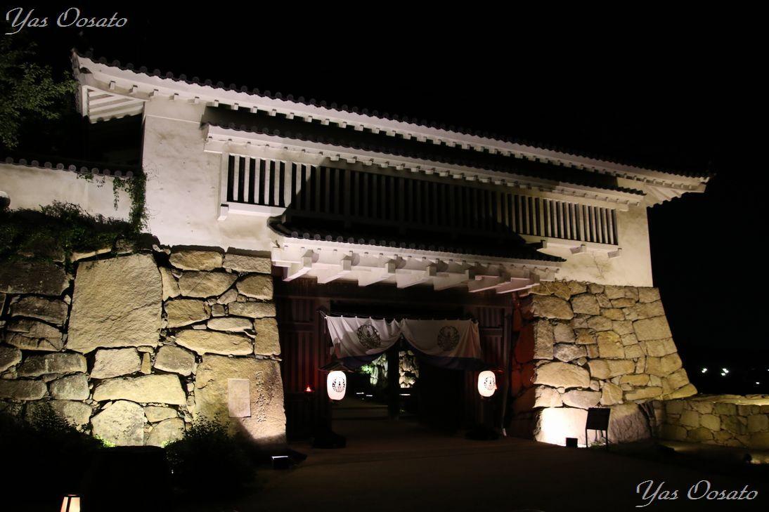 岡山城の出入口もまた美しい