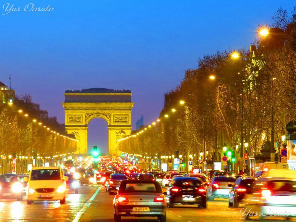 3日目夜:パリの美食と美景に酔いしれる