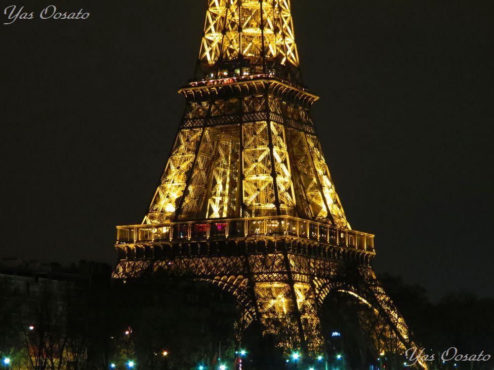 1日目:パリに到着!象徴的なパリの夜景からスタート