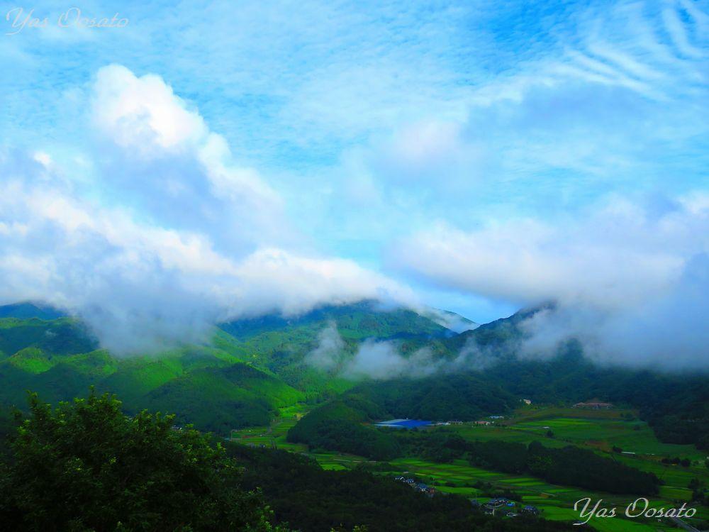 竹田城跡で広がる足元の雲海