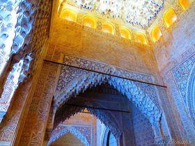 スペインの世界遺産・アルハンブラ宮殿はイスラム建築の代表格