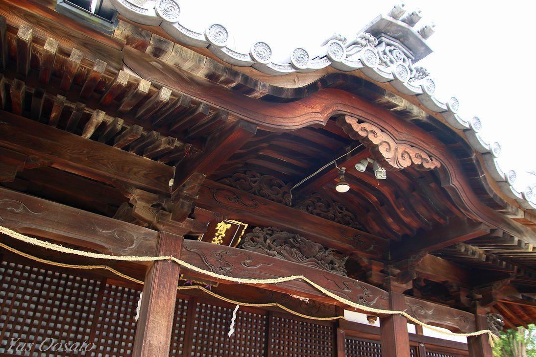 長い歴史の「鴨神社」