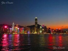 香港・尖沙咀の昼と幻想的夜景!シンフォニーオブライツは必見