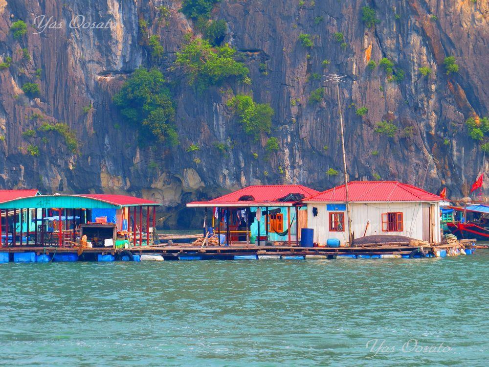 水上生活者の村