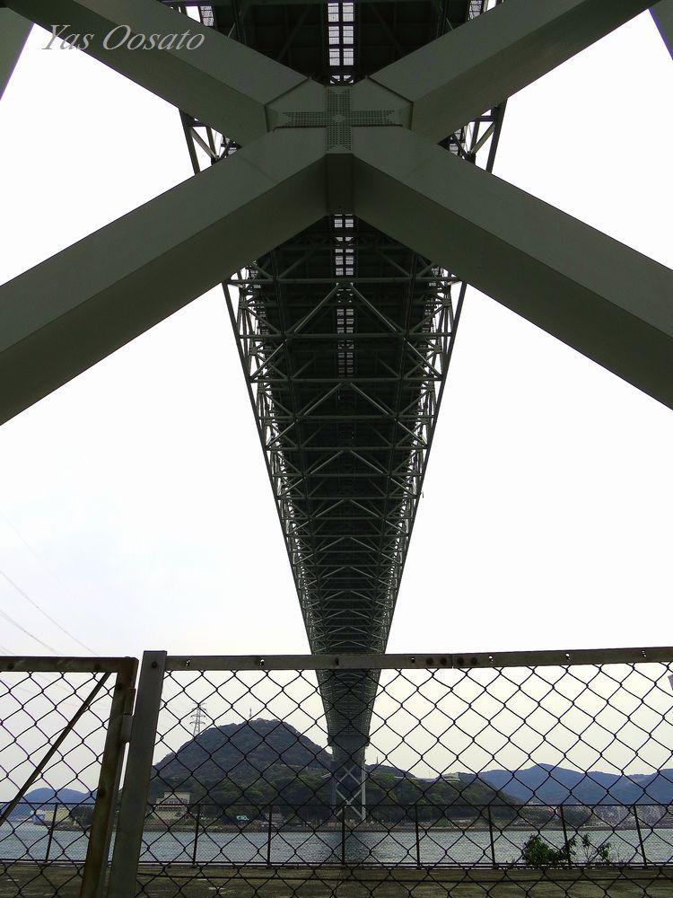 「関門橋」を真下から見上げてみよう