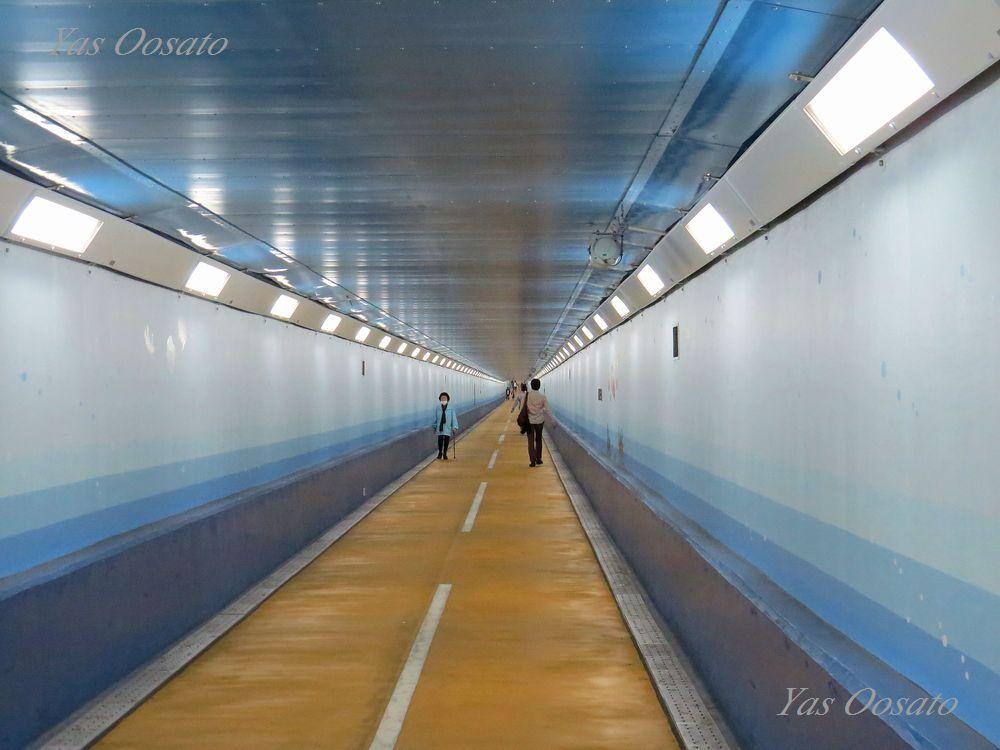外国人に大人気「関門トンネル人道」